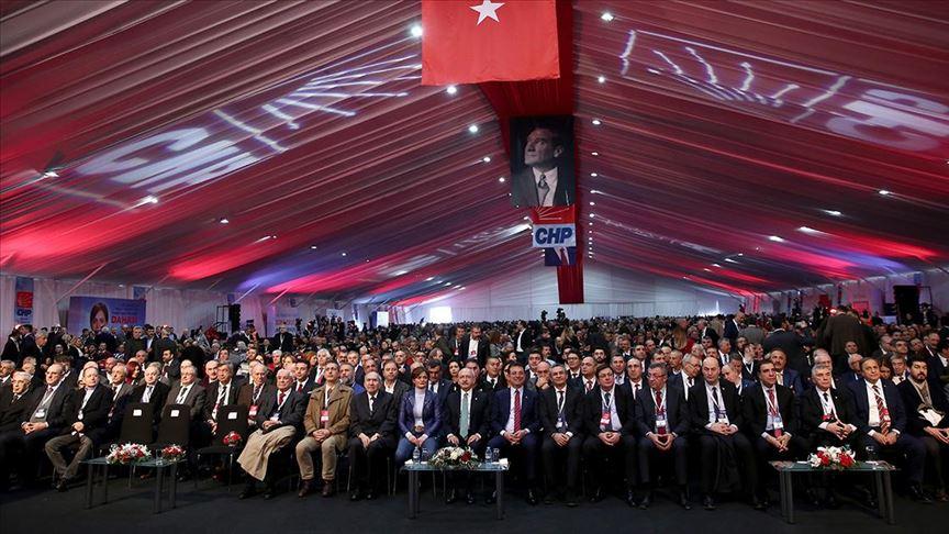 CHP il kongrelerinde sona doğru