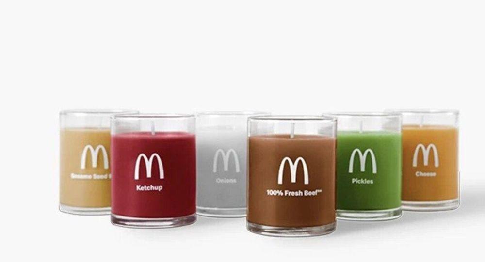 McDonalds'tan hamburger kokulu mum: Ketçap, turşu, peynir, soğan ve biftek kokusu da var