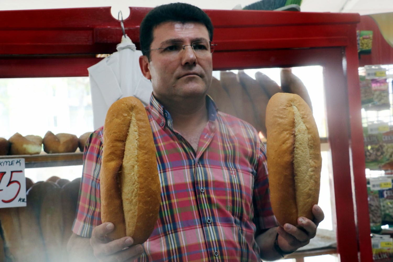 Fiyatı 1 lira olan ekmeği 75 kuruşa satınca, davalık oldu