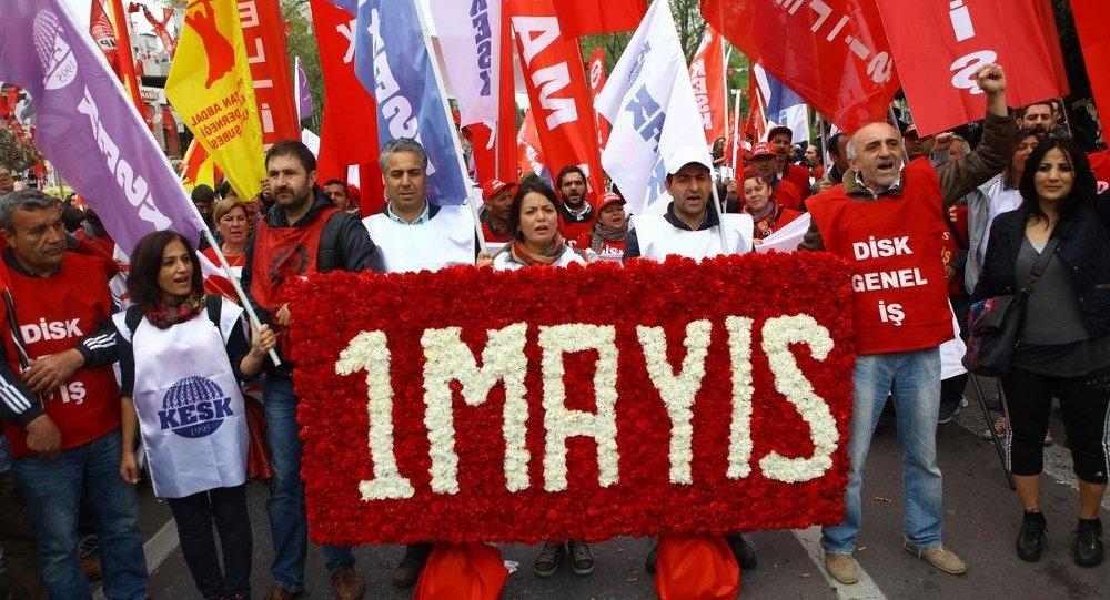 Maltepe, 1 Mayıs Emek ve Dayanışma Günü kutlamalarına hazır