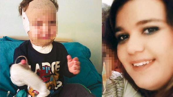 3 yaşından küçük 2 çocuğuna işkence eden kadın ile kocasına 3'er yıl hapis!
