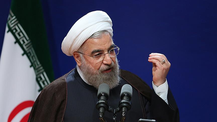 Ruhani: Koronavirüs salgını ABD'ye yaptırımları kaldırmak için fırsat sundu