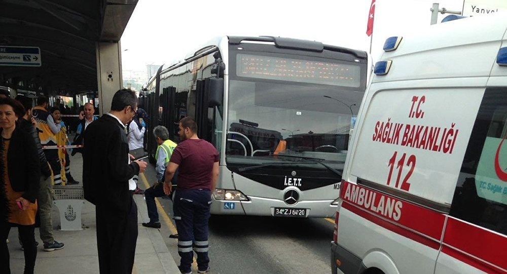 Suriyeli çocuğa metrobüs çarptı
