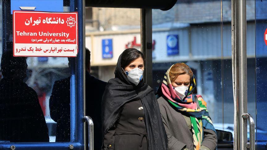 İran'da salgın kaynaklı can kaybı 1 ay sonra ilk kez 100'ün altına düştü