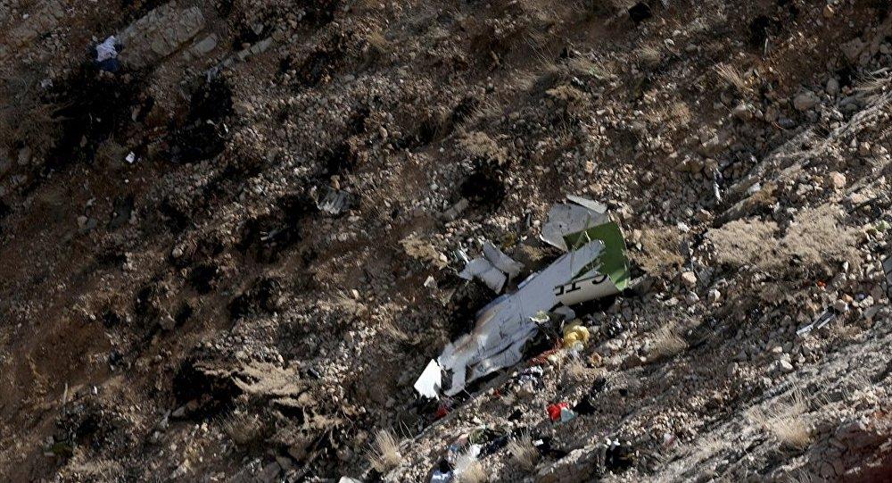 11 kişinin hayatını kaybettiği jet kazasına havadan tanık: Birden kayboldu