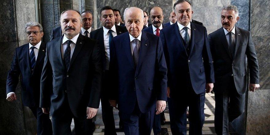 Cumhur İttifakı'nın vekil sayısını MHP kurmayları hesapladı