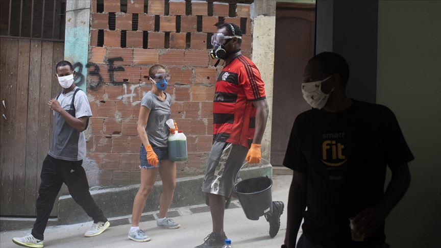 Flamengo Kulübünde 38 kişinin koronavirüs testi pozitif çıktı