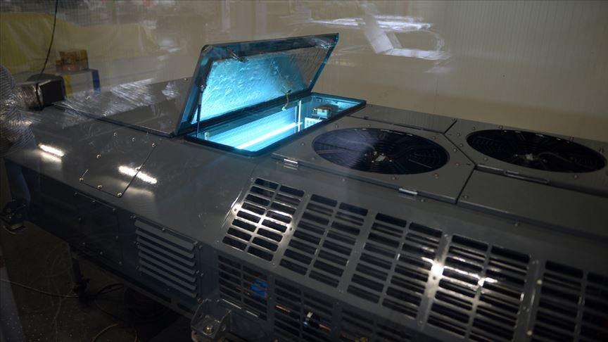 Toplu ulaşım araçlarının klimalarında Kovid-19'a karşı sistem geliştirildi