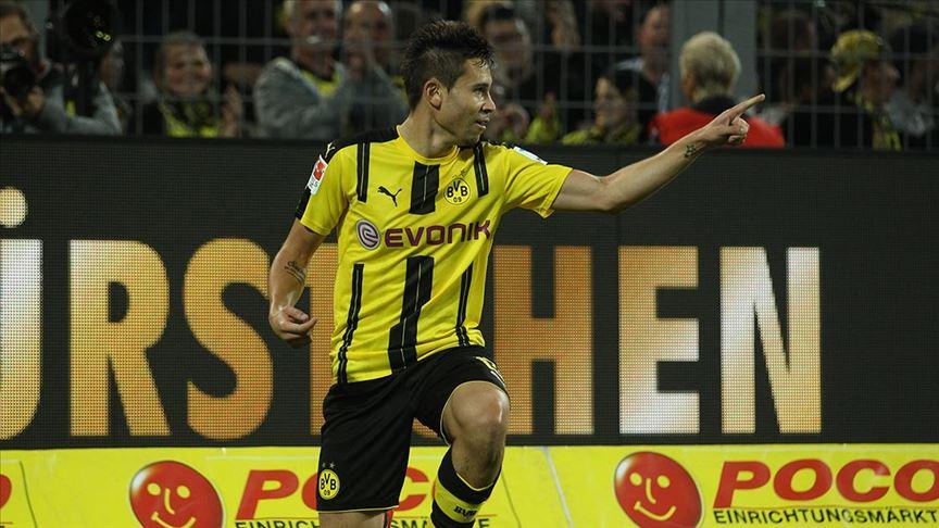 Borussia Dortmund deplasmanda 3 puanı 2 golle aldı