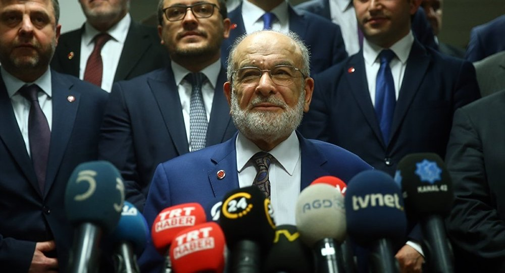 Karamollaoğlu da Cumhurbaşkanı adaylığı başvurusu yaptı