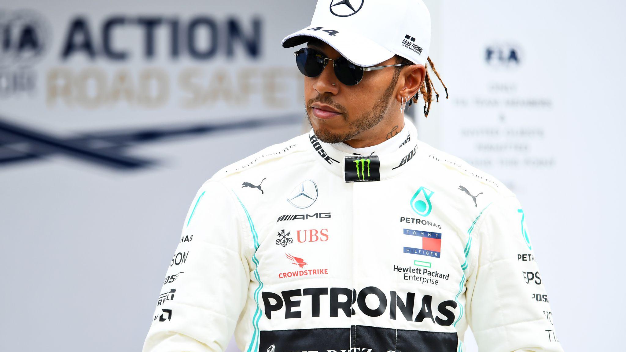 F1 pilotu Hamilton, George Floyd'un öldürülmesine sessiz kalanlara tepki gösterdi