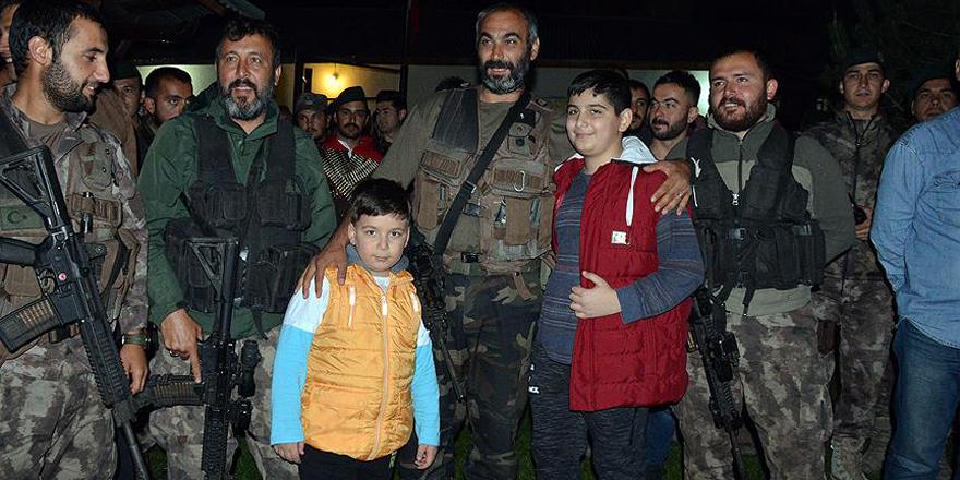Afrin'de görev yapan PÖH timi geri döndü