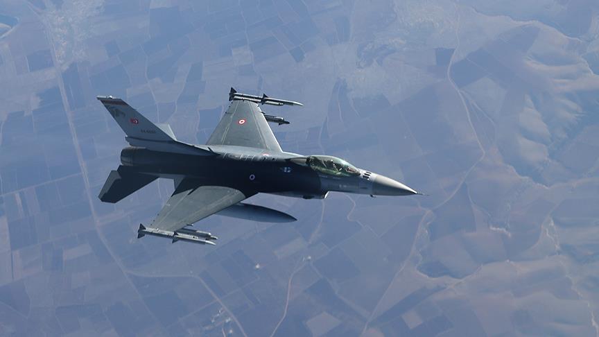 TSK Afrin'e hava operasyonu düzenledi