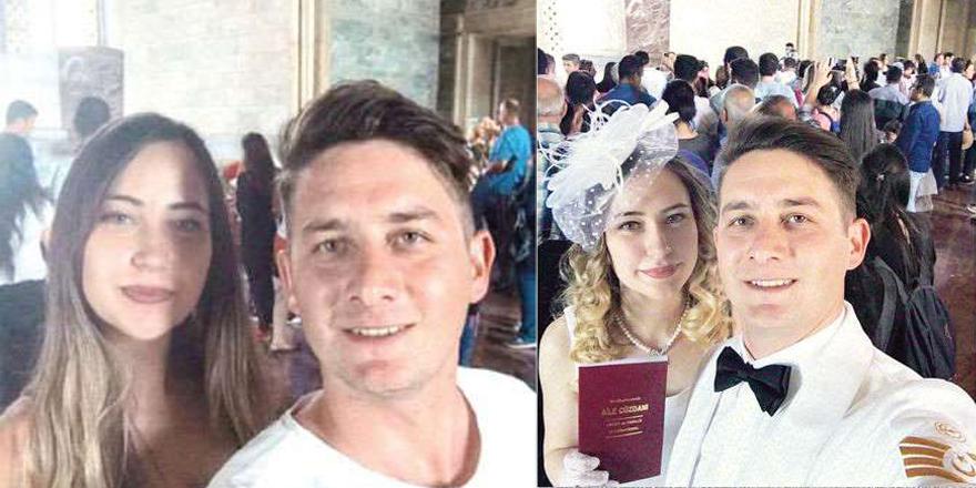 Anıtkabir'de zoraki 'selfie' ile başlayan aşk