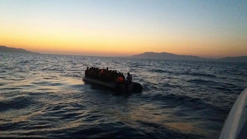 Ege'de kaçak göçmenlere operasyon düzenlendi