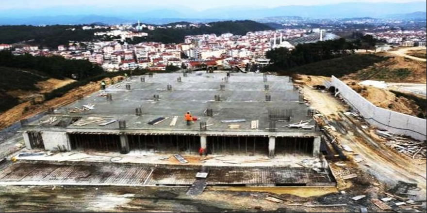 5 yıl önce yanan Türkbeleni Ormanı beton oldu