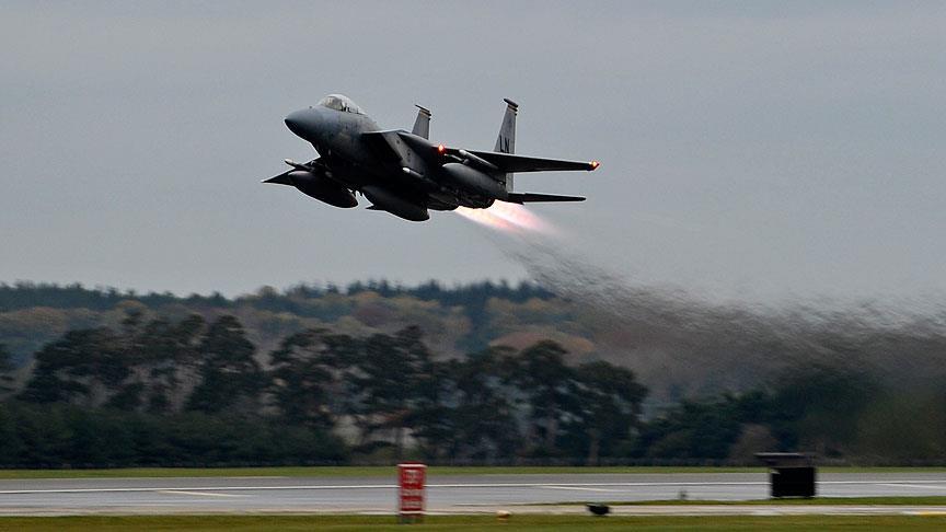 ABD'ye ait savaş uçağı düştü