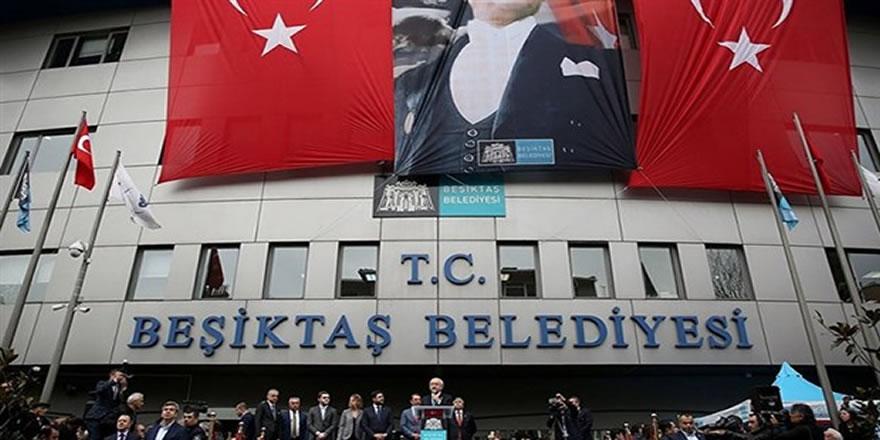 Beşiktaş Belediyesi'ne şok operasyon