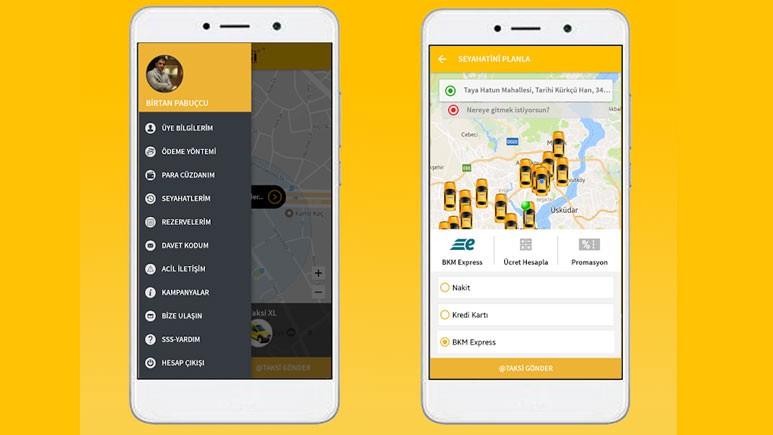Taksiciler aTaksi uygulaması ile rekabet edecek