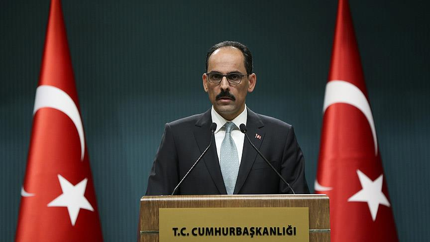 Cumhurbaşkanlığı Sözcüsü Kalın istifa iddialarına yanıt verdi
