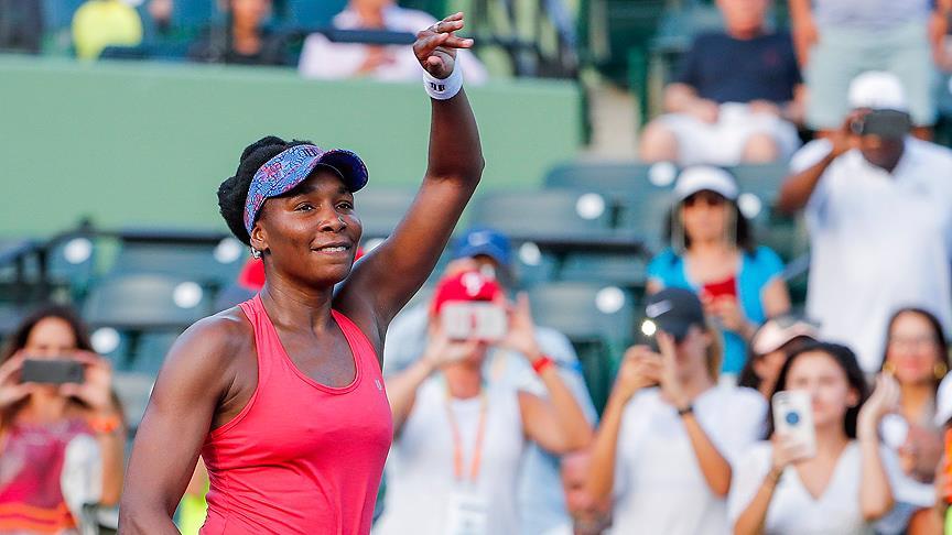 Venus Williams Miami Açık'ta çeyrek finalde