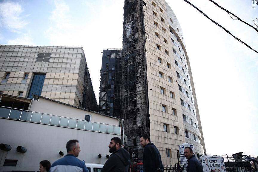 Hastane yangını araştırılıyor