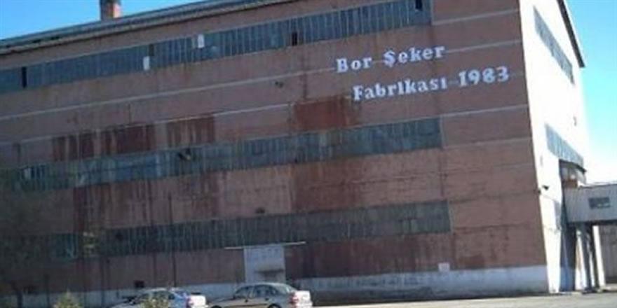 Niğde-Bor Şeker Fabrikası satıldı!