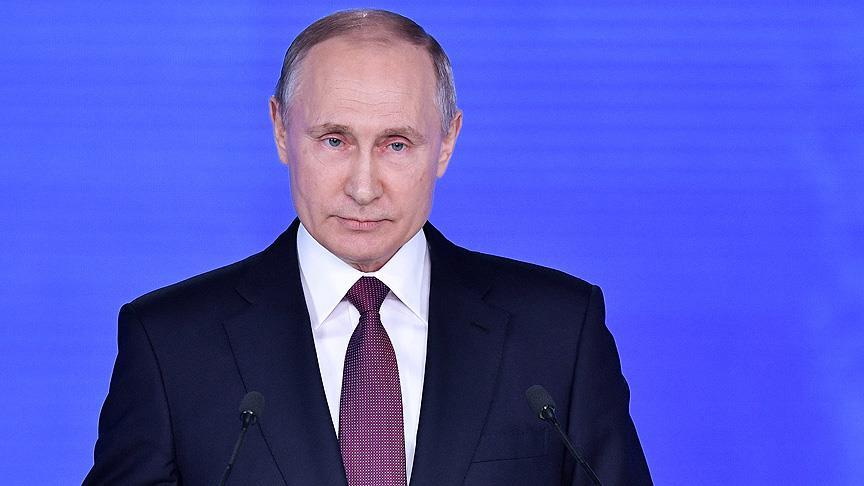Putin'den askeriyeye operasyon