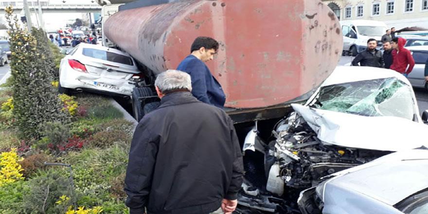 Başakşehir tanker dehşeti yaşandı