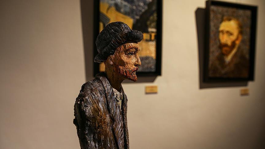 Van Gogh'un resimleri seramiğe aktarıldı