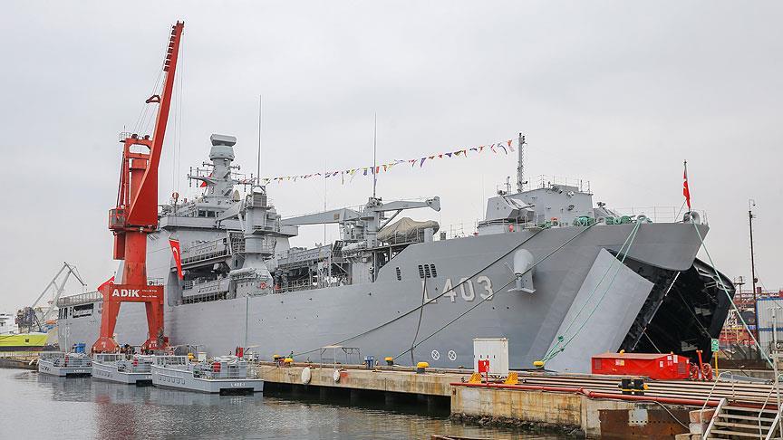 TCG Sancaktar Deniz Kuvvetleri Komutanlığı'na teslim edildi