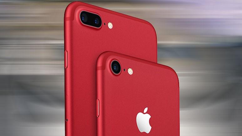 Kırmızı iPhone 8 ailesi geliyor
