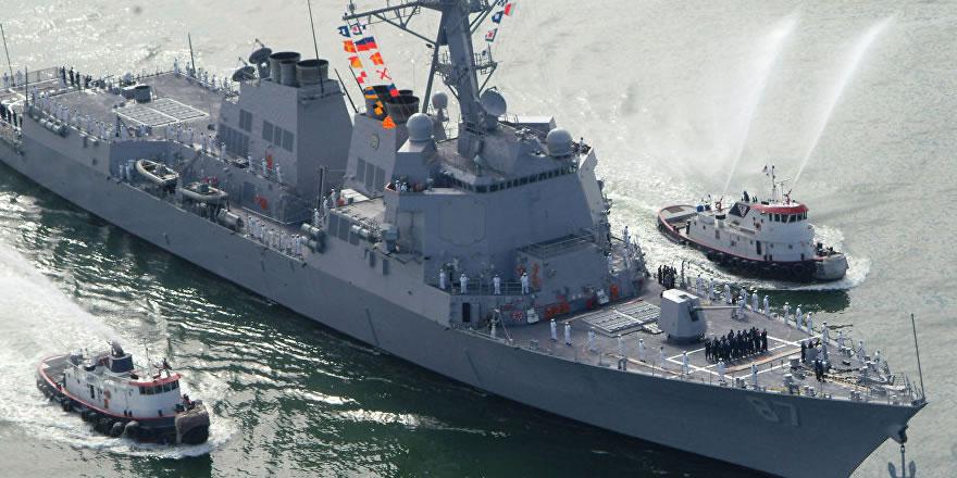 ABD destroyeri Suriye'ye yaklaştı iddiası