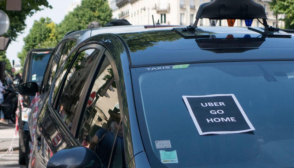 Fransa'da Uber'e dava açılabilecek!