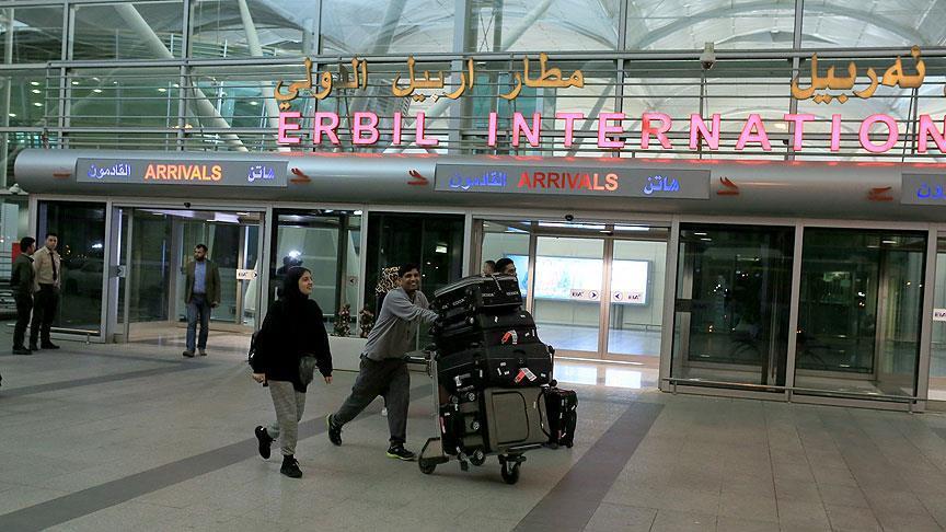 Türkiye'den Erbil'e uçak sefeleri bugün başladı