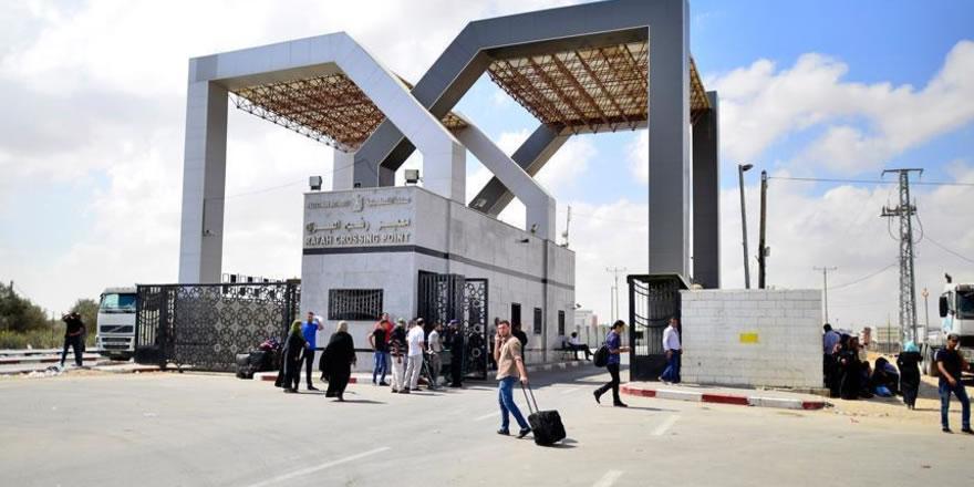 Refah Sınır Kapısı 3 gün süreyle açıldı