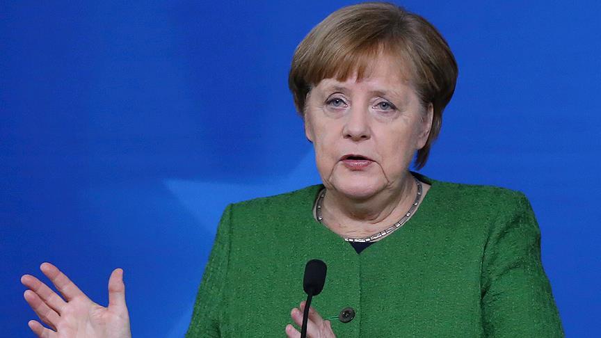 Merkel Suriye kararını açıkladı