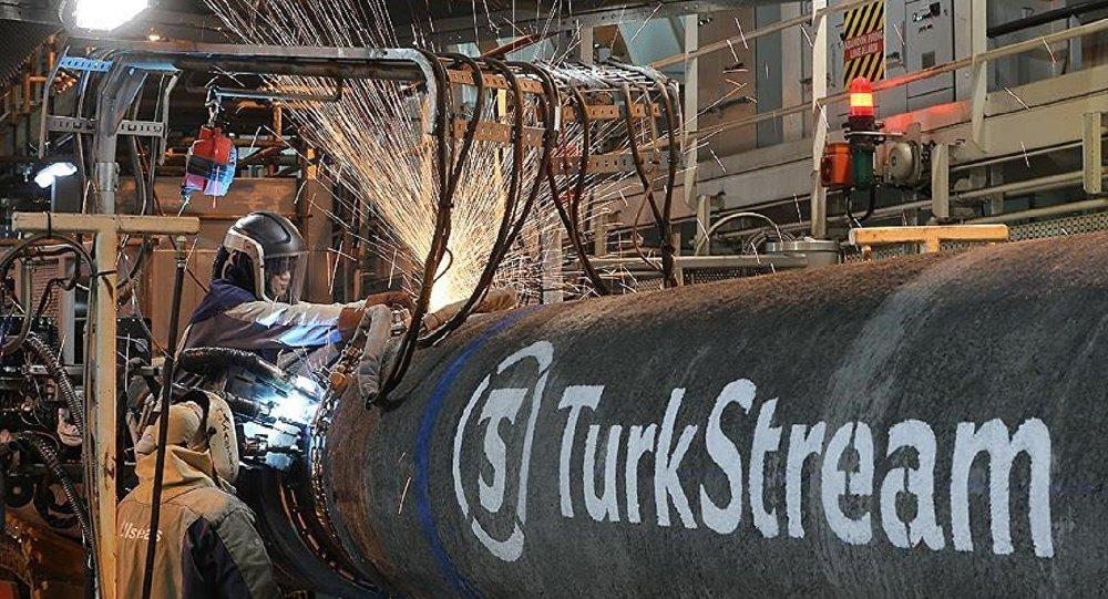 Türk Akımı'nda kıyı geçişi çalışmalarına başlandı