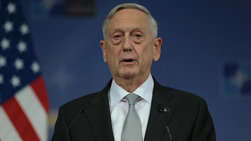 Bakan Mattis'ten Suriye açıklaması
