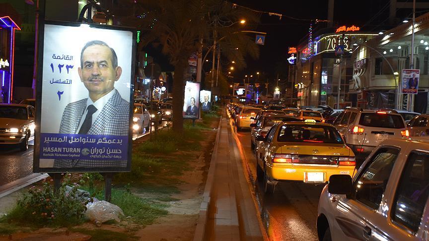 Irak'ta seçim propagandası başladı
