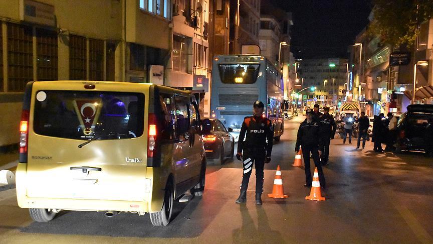 İstanbul'da 'Yeditepe Huzur' asayiş uygulaması: 212 gözaltı