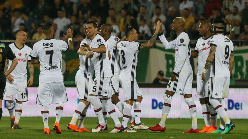 Beşiktaş ligin ikinci yarısında parlıyor