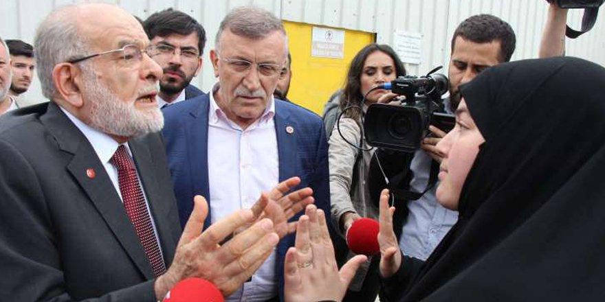 Temel Karamolloğlu'na protesto